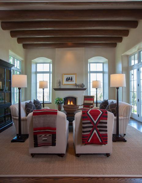 Violante rochford interiors interior design santa fe nm for Modern casual decor